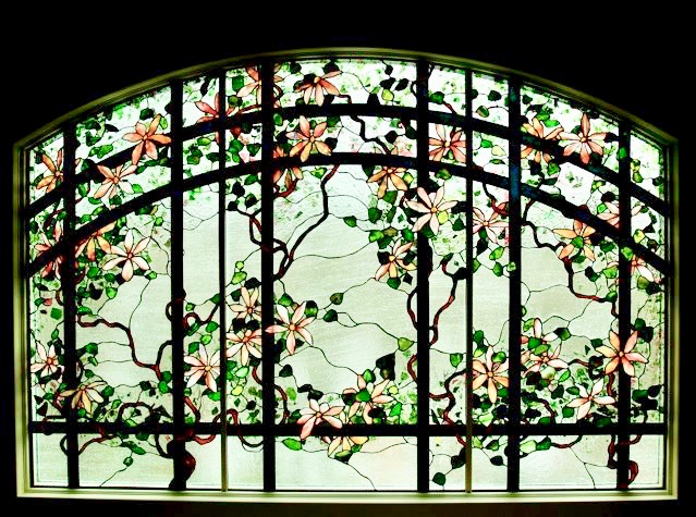 Stained Glass Floral Windows